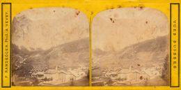 Stereo, Suisse, Wallis, La Gemmi, Phot. Randegger, Berner Alpen - Visores Estereoscópicos