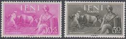 Ifni 1955 - Child Welfare: Farm Worker - Part Set Mi 151,153 ** MNH [1049] - Ifni