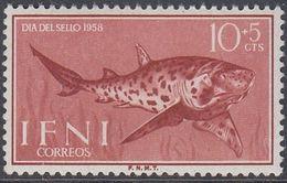 Ifni 1958 - Day Of Stamp: Cat Shark - Mi 178 ** MNH [1050] - Fishes