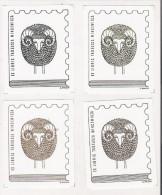 Exlibris, Ex-libris, Bookplate: Tadeusz Wincewicz, Philatelist, Stamp, Aries - Zodiac, Four Color Varieties, Poland 1990 - Ex Libris