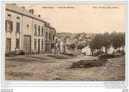 SAINT - LEGER ..-- Rue De L' Ourthe . 1919 Vers BRUXELLES ( Melle Maria LEONARD ) . Voir Verso . - Saint-Léger