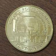 66 FONT ROMEU ODEILLO GRAND FOUR SOLAIRE MÉDAILLE TOURISTIQUE MONNAIE DE PARIS 2008 JETON MEDALS COINS TOKENS - 2008