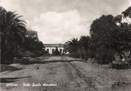 GHILARZA - VIALE SCUOLE ELEMENTARI - ORGOSOLO - VIAGGIATA - Cagliari