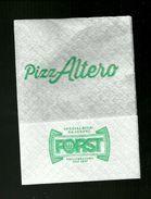 Tovagliolino Da Caffè - Pizzeria PizzAltero ( Bologna ) - Werbeservietten