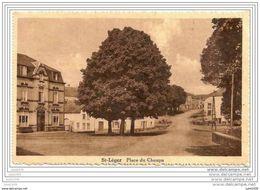 SAINT - LEGER ..-- Place Du Choupa . 1934 Vers HERSERANGE ( Mr Mme Octave JACQUEMIN ) . Voir Verso . - Saint-Léger