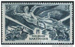 Martinique 1946. Michel #232 MNH/Luxe. WW2. Victoria. Transport. Militaria (Ts15) - 1946 Anniversaire De La Victoire