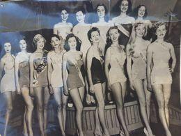 Photographie Original De L'élection Miss Univers 1952 Photos Agip Robert Cohen Paris Ajouter Les Photos Alors Est-ce Que - Pin-ups