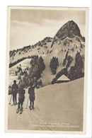 25594 -Paysage D'hiver Chalet De Gresalley Et Dent De Jaman Skieurs - Winter Sports