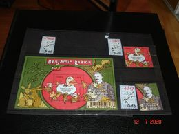 FRANCE ANNEE 2014 NEUFS  N° 4866 4867 ET FEUILLET N° F4866    BENJAMIN RABIER (1864-1939)  ILLUSTRATEUR FRANCAIS - Stamps