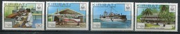 Kiribati Mi# 349-52 Postfrisch MNH - Postal Service - Kiribati (1979-...)