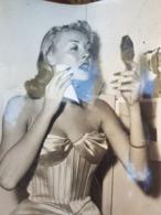 Photographe De Presse Original Keystone De Janine Marsay Dis Praline Mort Dans Un Accident De Voiture à L'âge De 29 Ans - Pin-ups