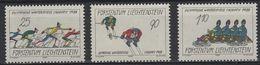 JO88-H11 - LIECHTENSTEIN N° 875/77 Neufs** Jeux Olympiques D'hiver 1988 - Liechtenstein