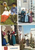 50 Cartes: FOLKLORE, COSTUME  ,différentes  Régions - 5 - 99 Postcards
