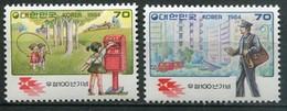 Süd Korea Mi# 1365-6 Postfrisch MNH - Mail Service - Korea (Süd-)