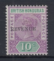 British Honduras (Belize) 1899 Queen Victoria Mi.-Nr. 41I Sauber Ungebraucht - Belize (1973-...)