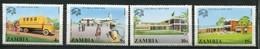 Sambia Mi# 133-6 Postfrisch MNH - UPU 1974 - Zambie (1965-...)