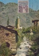 Carte  Maximum   ANDORRE   Vue  De  CANILLO   1964 - Andorra Española