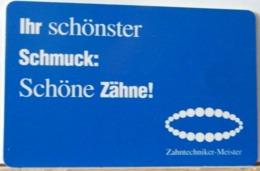 GR04 - GERMANIA - DM 12 -  ZAHNTECHNIKER - MEISTER  - R 13 12.98 - BIS 12/2001 - Deutschland