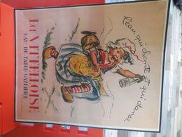 GERMAINE BOURET, Affiche Publicitaire Pour L'eau Vittelloise Dimensions Environ 31*25.5 Cm....4B0720 - Belgio
