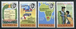 Lesotho Mi# 156-9  Postfrisch MNH - Education - Lesotho (1966-...)