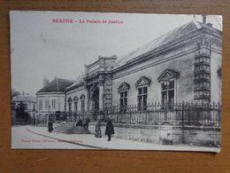 France / Beaune, Le Palais De Justice -> écrit 1915 - Beaune