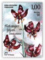 2014 Flora, Catania's Lily, N° 392, Croat Post Mostar, Bosnia And Herzegovina - Bosnien-Herzegowina