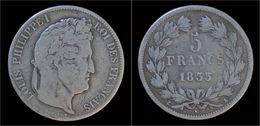 France Louis Philippe I 5 Francs 1835A - France