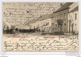 SAINT - LEGER ..-- Grand' Rue . 1903 Vers BRUXELLES ( Melle Anaïse PIERRE ) . Voir Verso . - Saint-Léger