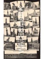 DENKMALER DER SCHLACHTFELDER VON WOERTH A S. OLD B/W POSTCARD FRANCE BATTLEFIELD MONUMENTS - Francia