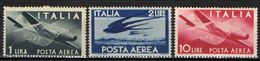 "ITALIA - 1945 - SERIE ""DEMOCRATICA"" - FILIGRANA RUOTA - I PRIMI VALORI - MNH - 6. 1946-.. Republik"
