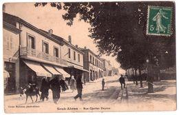 7360 - Souk-Ahras - Rue Charles Deyron - Cl. Belisson Phot. édit. - - Souk Ahras