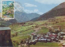 Carte  Maximum   ANDORRE   Vue  De  MASSANA   1972 - Andorra Española