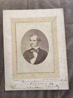 Portrait 1882 Photographie De SCHEMBOCHE Dimension 16X22 - Photographs