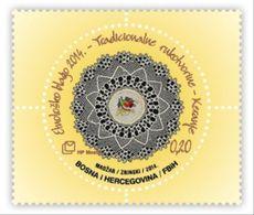 2014 Ethnological Treasure. Traditional Handicrafts - Keranje, N° 389, Croat Post Mostar, Bosnia And Herzegovina, MNH - Bosnien-Herzegowina