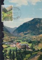 Carte  Maximum   ANDORRE   Vallée  D' ENCAMP   1972 - Andorra Española