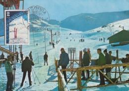 Carte  Maximum   ANDORRE   PAS  DE  LA  CASA   1972 - Andorra Española