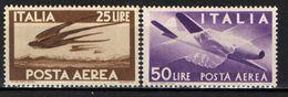 "ITALIA - 1947 - SERIE ""DEMOCRATICA"" - FILIGRANA RUOTA - NUOVI VALORI - MNH - 6. 1946-.. Republik"