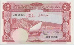 YEMEN DEMOCRATIC P. 4b 5 D 1965 AUNC - Yemen