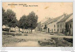 SAINT - LEGER ..-- FELDPOST .  Rue De L ' Ourthe . 1916 Vers Allemagne . Cachet Allemand . Voir Verso . - Saint-Léger