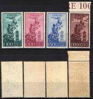 "ITALIA - 1948/52 - SERIE ""CAMPIDOGLIO"" - FILIGRANA RUOTA - MNH - 6. 1946-.. Republik"