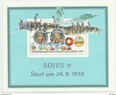 """DDR Bl.53 """"ISojus 31'78""""  Postfrisch.Mi 2,40 - Blokken"""