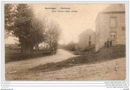 SAINT - LEGER ..-- Faubourg . Vers SAINT - GILLES ( Melle Engèle CLOOLS? ) . Voir Verso . - Saint-Léger