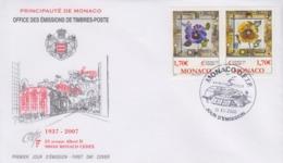Enveloppe  FDC  1er  Jour  MONACO   GRIMALDI   FORUM   2006 - FDC