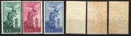 "ITALIA - 1955 - SERIE ""CAMPIDOGLIO"" - FILIGRANA STELLE - MNH - 6. 1946-.. Republik"
