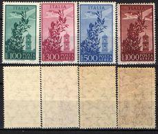 "ITALIA - 1955/59 - SERIE ""CAMPIDOGLIO"" - FILIGRANA STELLE - MNH - 6. 1946-.. Republik"