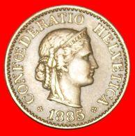 · LIBERTY (1879-2020): SWITZERLAND ★ 10 RAPPEN 1885B! LOW START ★ NO RESERVE! - Suisse