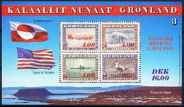 1995 GREENLAND AMERICA MNH SOUVENIR SHEET SCOTT # 295a - Neufs