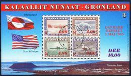 1995 GREENLAND AMERICA MNH SOUVENIR SHEET SCOTT # 295a - Groenland