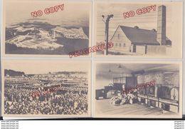 Fixe Rare Pochette 8 Photo-carte Buchenwald Camp De Concentration Konzentrationslagen Allemagne - 1939-45