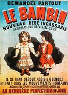 Publicité Poupée Doll Le Bambin  Bébé Incassable - Dolls